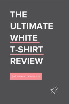 I went in search of the best white t-shirt for women, and I tried 20 white v-neck tees ranging in price from $9 to $90. New Things To Learn, Good Things, Fashion For Women Over 40, White V Necks, Night Looks, White Tees, Fashion Advice, V Neck Tee, T Shirts For Women