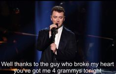 Sam smith , one of my favorites in my iPod