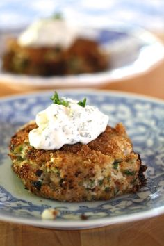 Crab cakes. More recipes at www.victoriaamory.com