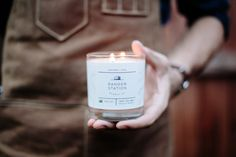 My new favorite candle scent... I love Ranger Station!
