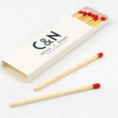 """Cajas de cerillas para Bodas modelo """"Cigar"""". Boda de Cristian & Nazaret. Model, Match Boxes, Natural Wood, Weddings"""