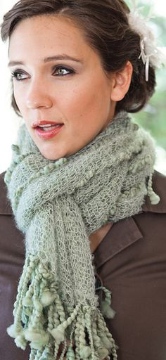 Free Pattern: Margitta Scarf by Adele Cutten