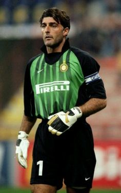 21 Oct Gianluca Pagliuca of Inter Milan in the UEFA Champions League match against Spartak Moscow at the San Siro in Milan, Italy. Inter won Mandatory Credit: Shaun Botterill /Allsport Fifa, Football Kits, Nike Football, Legends Football, European Soccer, International Football, Vintage Football, Uefa Champions League, Goalkeeper