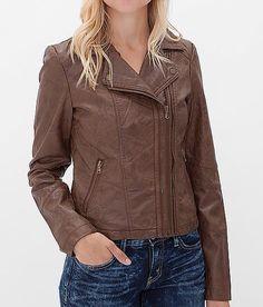 BKE Faux Leather Jacket