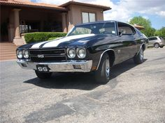 1970 Chevrolet Chevelle SS - Barrett-Jackson auction (sold, $42,900, Jan 2013)