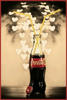 Have a heart, have a Coke ...