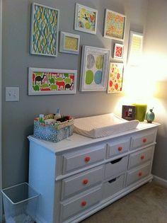 decorative knobs Nursery How to Design a Nursery on a Budget