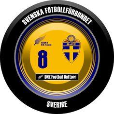 DNZ Football Buttons: Seleção da Suécia