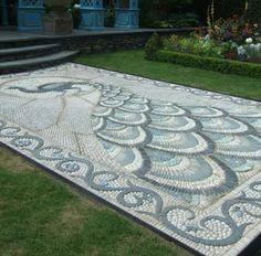 Path, rock art
