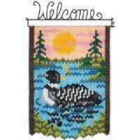 Herrschners® Common Loon Beaded Banner Kit