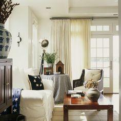 Easton House - Rustic - Living Room - dc metro - by Patrick Sutton Associates