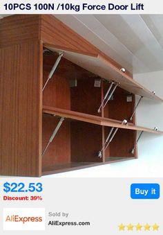 Furniture Hinge Kitchen Cabinet Door Lift Pneumatic Support ...