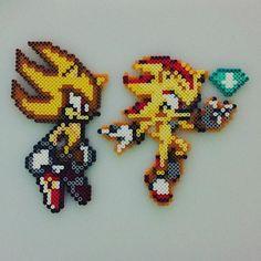 Sonic perler beads by  savage_yordle
