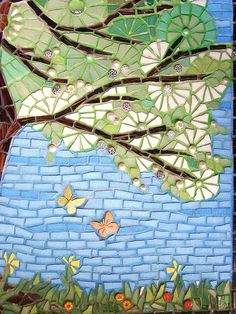 mosaic tree of life