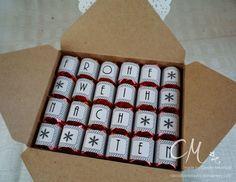 Verpackung mit dem Envelope Punch Board für Mon Chéri und Ferrero Küsschen #CarosBastelbude