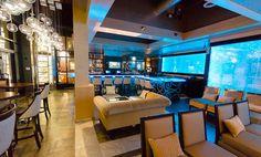 TEXAS TOP INTERIOR DESIGNERS: DESIGN DUNCAN MILLER ULLMANN - Aqua Lounge   Luxury Interior Design   Design Inspiration   www.homeandecoration.com #interiordesign styles #duncanmillerullmann #homedecor #designideas #moderndesign #luxuryinterior #topinteriordesigners