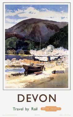 Jack Merriott. Devon. British Railways