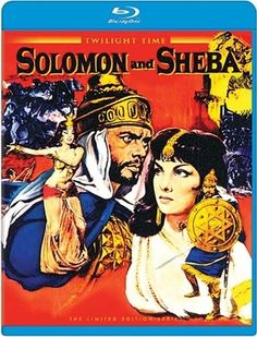 Solomon and Sheba - Blu-Ray (Twilight Time Ltd. Region Free) Release Date: Available Now (Screen Archives Entertainment U.S.)