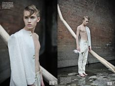 Stylist Make-up Artist Fashion Designer :  Lukasz Omiotek Photographer Alexandra Macewicz