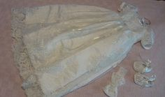 Vestido bautismo vestido artesanal herencia conjunto Vestido