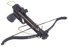Range right vulcan crossbow 80lb Draw weight Features steel limbs Plastic stock manual safety catch Adjustable sights Comes with 2 bolts You Must Be