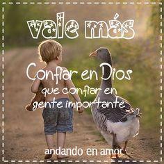 Confía siempre el Dios que el siempre cumple lo que promete!