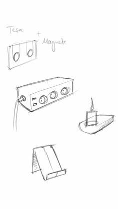 Magnethalter Wandbefestigung Mit dem Magnethalter kann man unterschiedliche Dinge an der Wand befestigen. Zum Beispiel Sammelsteckdosen, oder andere Wandhalterungen, ohne sie fest schrauben zu müssen.