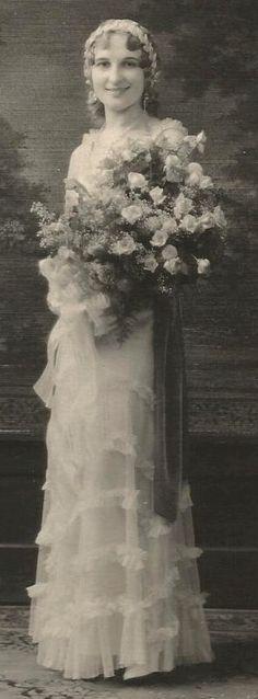 Pretty Bride, 1920s.