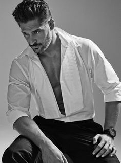 Joe Manganiello Explains Why He Won't Act with Sofia Vergara: Photo Joe Manganiello is brooding in black and white on the cover of Haute Living's July/August issue, on newsstands now. Here is what the Magic Mike XXL… Joe Manganiello, Pretty Men, Gorgeous Men, Beautiful Boys, Beautiful People, Magic Mike, Sofia Vergara, Hot Actors, Taylor Kitsch