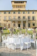 Elegant Tuscany Wedding at Castello Di Santa Maria Novella - Style Me Pretty