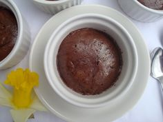 Čokoládové soufflé s Amarettem | Chocolate Amaretto Soufflé - www.vune-vanilky.cz