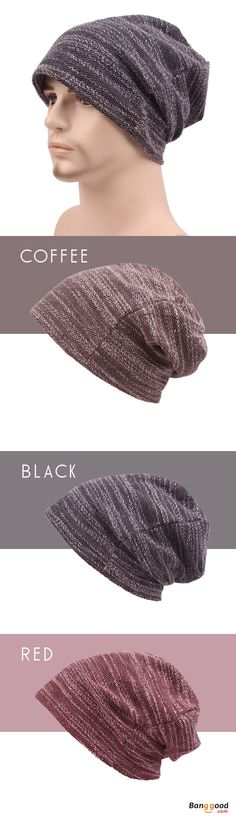US$8.88+Free shipping. Men's Cap, Cotton Slouch Beanie Hat, Casual, Solid, Knitted, Striped Elastic. Color: Coffee, Red, Black. Shop now~
