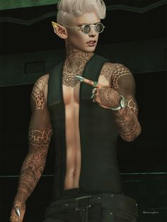 ***  ***    ***  Stealthic - Narcotic  Noir - Epic Glasses  Gabriel - Lip piercing  Meva - Drago Outfit (incl. Vest, Pants and Boots) at Mancave May '18  RealEvil Industries - Striker Rings & Claws  Kunst - GMT Watch  Speakeasy - Kelon Tattoo  Jian 'dorable Danes 7.   #Backdrop #bauhausmovement #BOOTS #Claws #Dog #Fashion #FashionShow #GABRIEL #Glasses #Hair #Jian #Kunst #L'Hommemagazinesl #Magazine #Meva #Noir #Outift #PANTS #Piercing #pose #Pup #