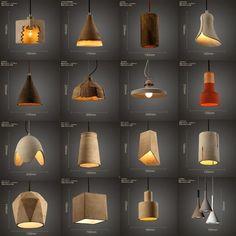 Source wholesale vintage concrete pendant lamp parts for hotel on m.alibaba.com #ConcreteLamp