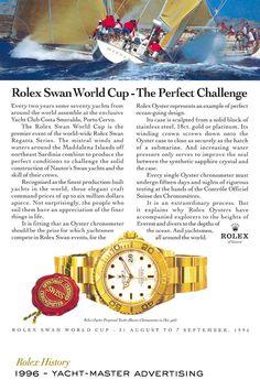Rolex Yacht-Master advertising. #RolexOfficial