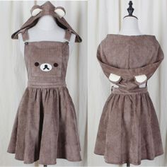 THAT IS ADORABLE I ALWAYS WANTED SOMETHING LIKE THIS.. I FORGET WHAT ITS CALLED. I like the dress/suspenders thingys.