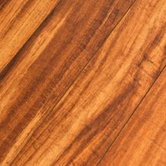 Hampton Bay High Gloss Hawaiian Koa Caramel 8 Mm Thick X 5