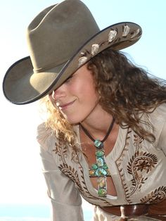2a689f52d5f Run for the Roses Saddle and Chocolate by Brit West. Mariam Hall · The Cowboy  Hat