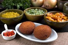 Acarajé,tipica comida da Bahia