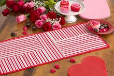 Valentine Table Runner | Sewing Secrets - A Blog by Coats & Clark | Bloglovin'