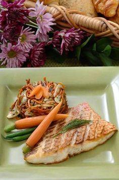 Florida snapper great for Lenten menus