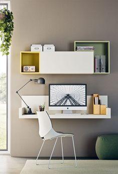 Study Table Designs, Study Room Design, Living Room Tv Unit Designs, Study Room Decor, Home Room Design, Home Office Table, Home Office Setup, Home Decor Furniture, Furniture Design