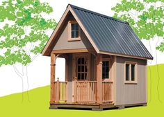 7 Free Cabin Plans for the Ultimate DIYer: The Cottage Life Bunkie Plan