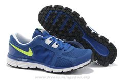 finest selection e1396 e6b5a Latest Listing Mens Nike Dual Fusion ST 2 Royal Blue Lime Green Shoes The  Most Flexible Running Shoes