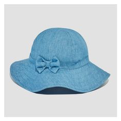 9ac904137bc Baby Girls  Chambray Sun Hat from Joe Fresh. Show off her spring style in