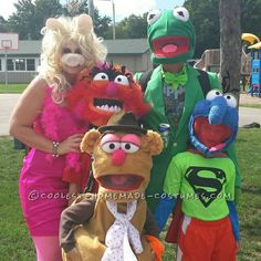 Coolest Muppet Family Costumes... Coolest Halloween Costume Contest