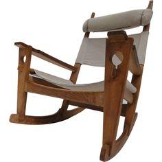 Hans J. Wegner Keyhole rocking chair Getama Denamrk 1967