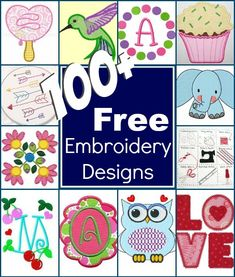Embroidery Designs 1