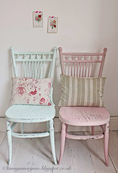 The Villa on Mount Pleasant: Pastel Chairs