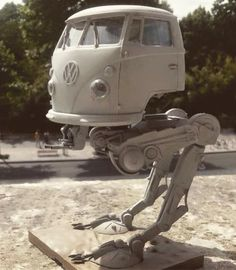 Damn! I want this Volkswagon AT-AT! #StarWars